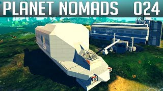 PLANET NOMADS #024 | Die Front am Schwertransporter | Gameplay German Deutsch thumbnail