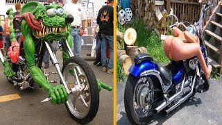 Most Unusual & Weirdest Motorcycles You Have Never Seen!