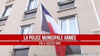 Armement de la Police municipale à Ajaccio