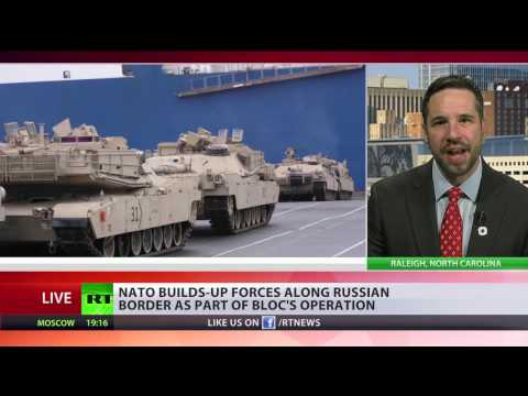 'Keep American empire alive': NATO builds up forces along Russian border