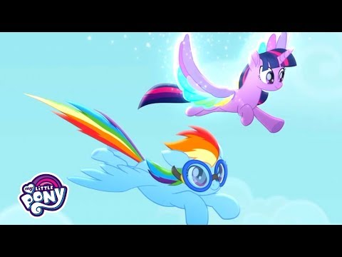 'Living In Color' Sing-Along  🌈 My Little Pony: Rainbow Roadtrip | #MusicMonday