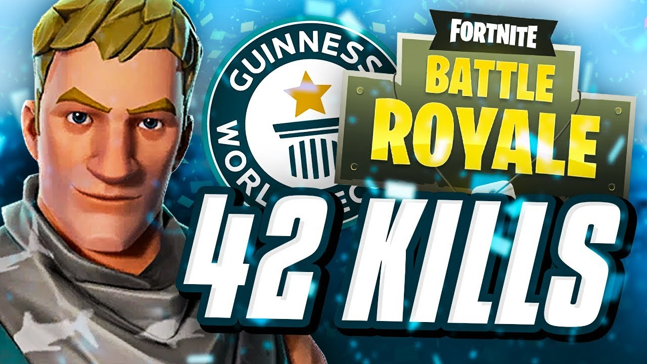 FORTNITE WORLD RECORD 42 KILL TRIO SQUADS - YouTube