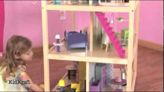 Kidkraft So Chic Dollhouse 65078 - Stylish Wooden Playhouse