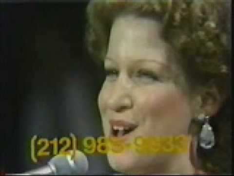 BETTE MIDLER - Hello in there (UJA Theleton 1973)
