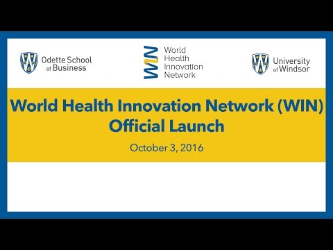 Launch of the World Health Innovation Network (WIN)