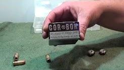 Balistic test CORBON 45 acp 230 +p