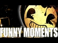CHAPTER 1: BENDY AND THE INK MACHINE *FUNNY MOMENTS!*