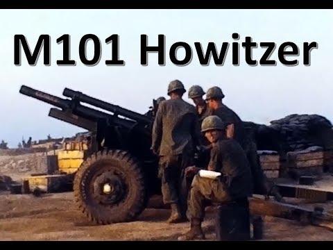M101 Howitzer (105 Mm) In Vietnam