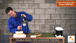 DOUBLE SIDED TAPE ADHESION TESTING