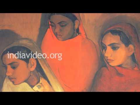 Painting  Amrita Sher-gil India Painter