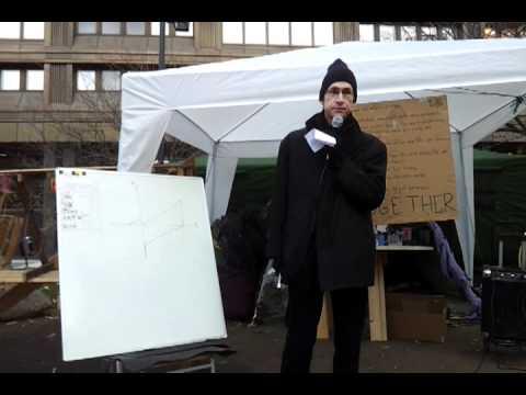 JAK medlemsbank föreläsning hos Occupy Stockholm 3/12-2011