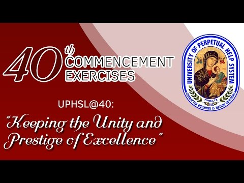 UPHSL 40th Commencement Exercises