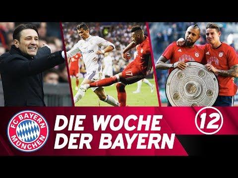 Die Woche der Bayern: Deutscher Meister, wieder Real Madrid & ein neuer Trainer | Ausgabe 12