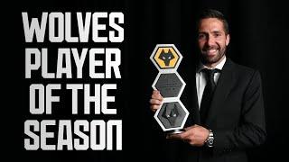 Joao Moutinho wins Wolves Player of the Season!
