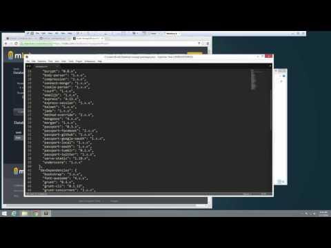 Node.js & Drywall User Management System
