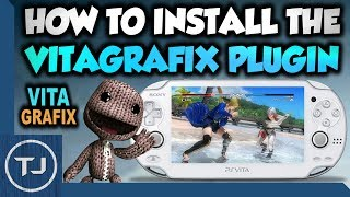 PS Vita How To Install The VitaGrafix Plugin!