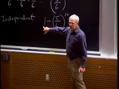 Lecture 14 Introduction to Sampling and Monte Carlo Simulation by MIT OCW