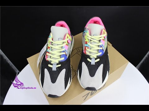 85f0bfb6d11 Kaws x yeezy 700 wave runner customized sneaker unboxing review ...
