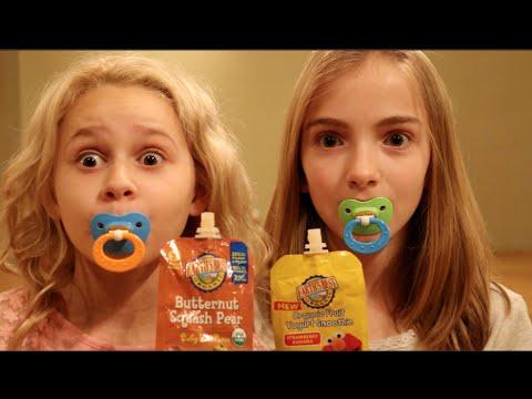 Baby Food Challenge On Youtube