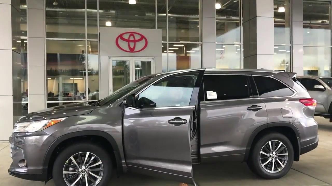 2018 Highlander Xle Virtual Test Drive Toyota Of Olympia