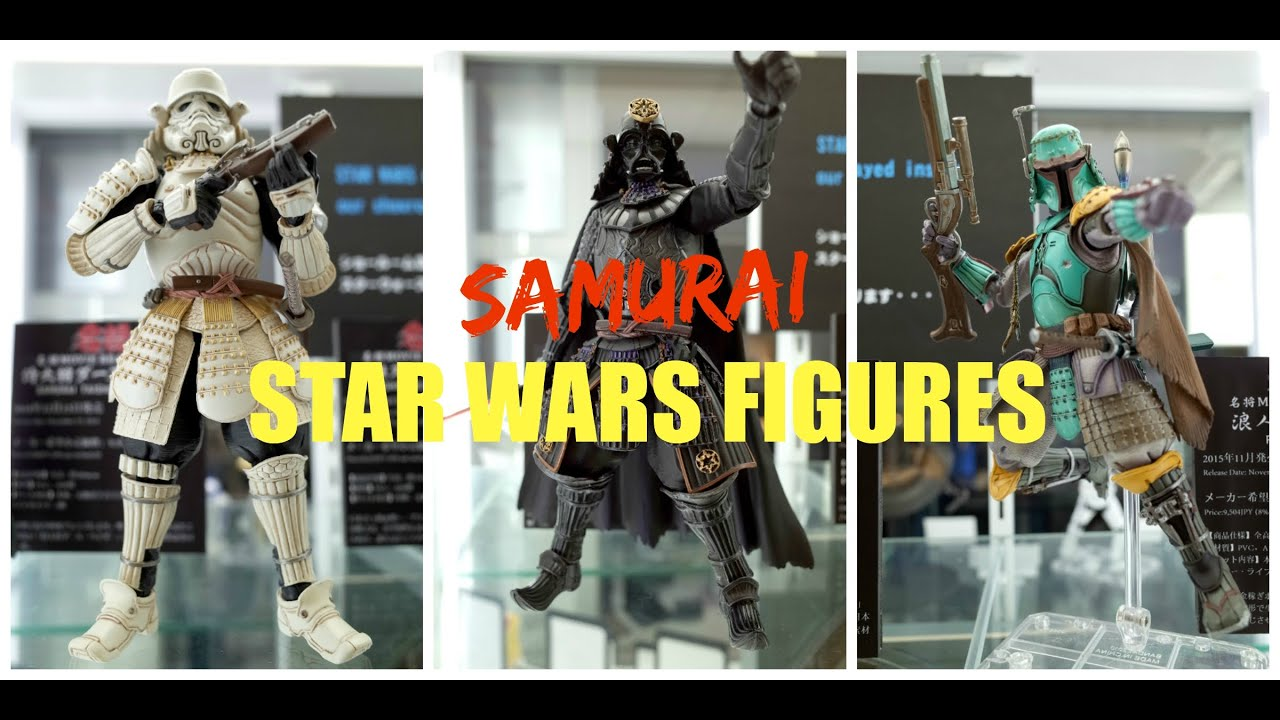 We check out the new Samurai Star Wars figurines from Bandai