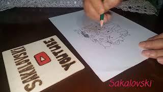 Taş Devri - Shrek çizgi film Eğlenceli Çizimler how to draw