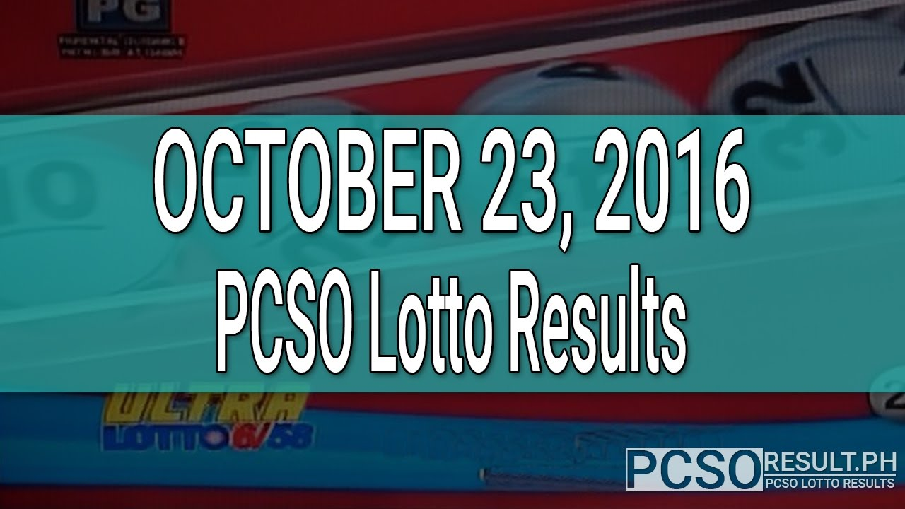 Pcso Lotto Results October   Swertres Ez Youtube