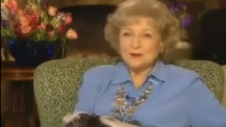 Betty White 2000 Intimate Portrait