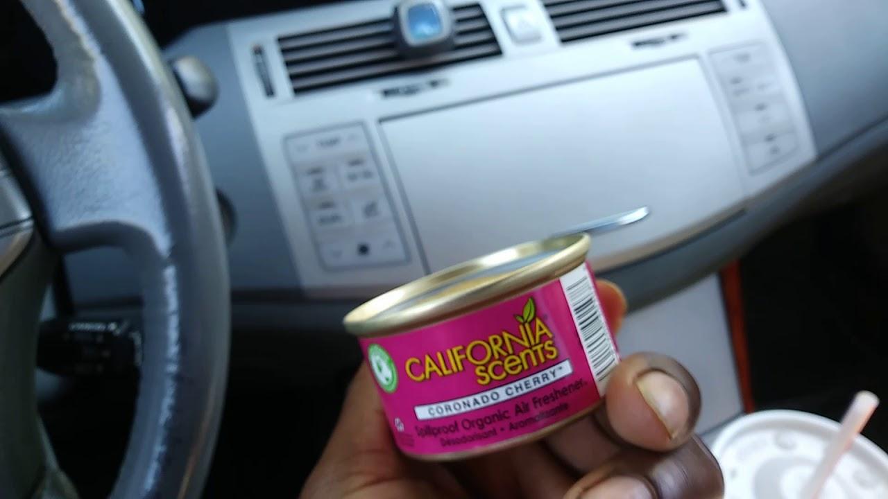 New Car Smell Air Freshener: Best Car Air Fresheners California Scents Vs Febreze Air