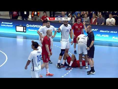 Pan Am 2018: Chile vs Greenland (2:2) KNR 2018-06-24