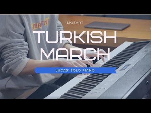 🎵Mozart (모차르트) - Turkish March (터키 행진곡)ㅣ Lucas' Solo Piano