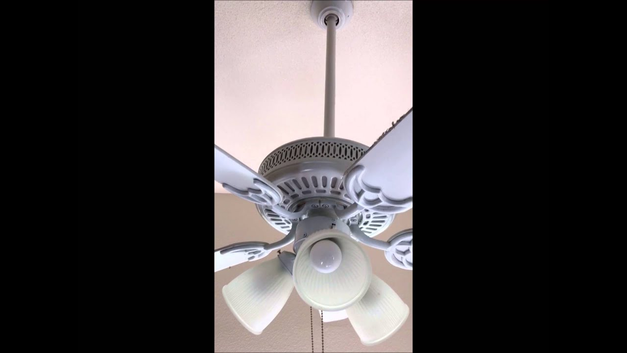 How to fix a wobbly ceiling fan youtube how to fix a wobbly ceiling fan aloadofball Image collections