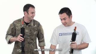 Airsoft GI - WE SCAR Light Open Bolt GBBR Licensed by Cybergun