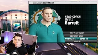 Creating Coach & Interviewing For Jobs! NFL Head Coach 09