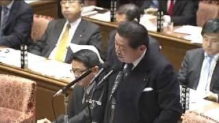 平成24年2月23日 衆院予算・中川秀直(自民) 中川秀直 検索動画 3