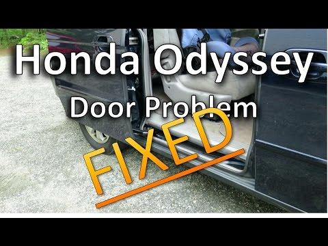 FIX - Honda Odyssey Door Not Opening Completely