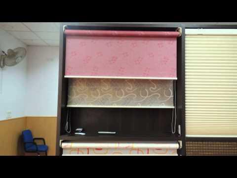 Roller Blinds - Vista Roller Window Blinds Video from Showroom