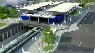 Mitcham Level Crossing Removals Concept Animation