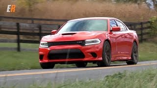 2015 SRT Charger Hellcat 707 hp Road and Track Review - Getting Groceries at 204 mph