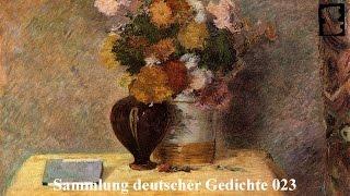 Poetry: Sammlung deutscher Gedichte 023 / Deutsch / Hörbuch / Komplett