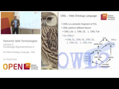 05 - 04 Web Ontology Language - OWL
