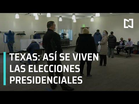 Así se vive la elección presidencial de Estados Unidos 2020 en Texas - Las Noticias
