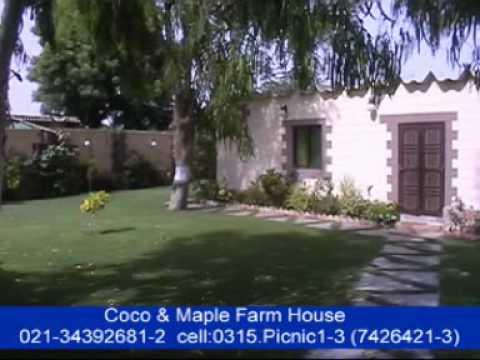 Coco farm house maple farm house 0315 7426421 3 best for Best farm house