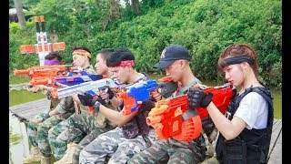 LTT Nerf War : SEAL X Warriors Nerf Guns Fight Attack Criminal Group Rescue Seal Team Warriors