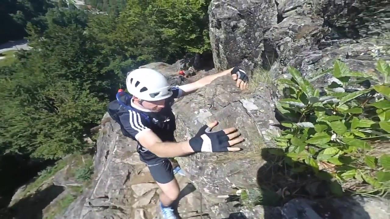 Klettersteig Todtnau : Klettersteigkurs für einsteiger und anfänger