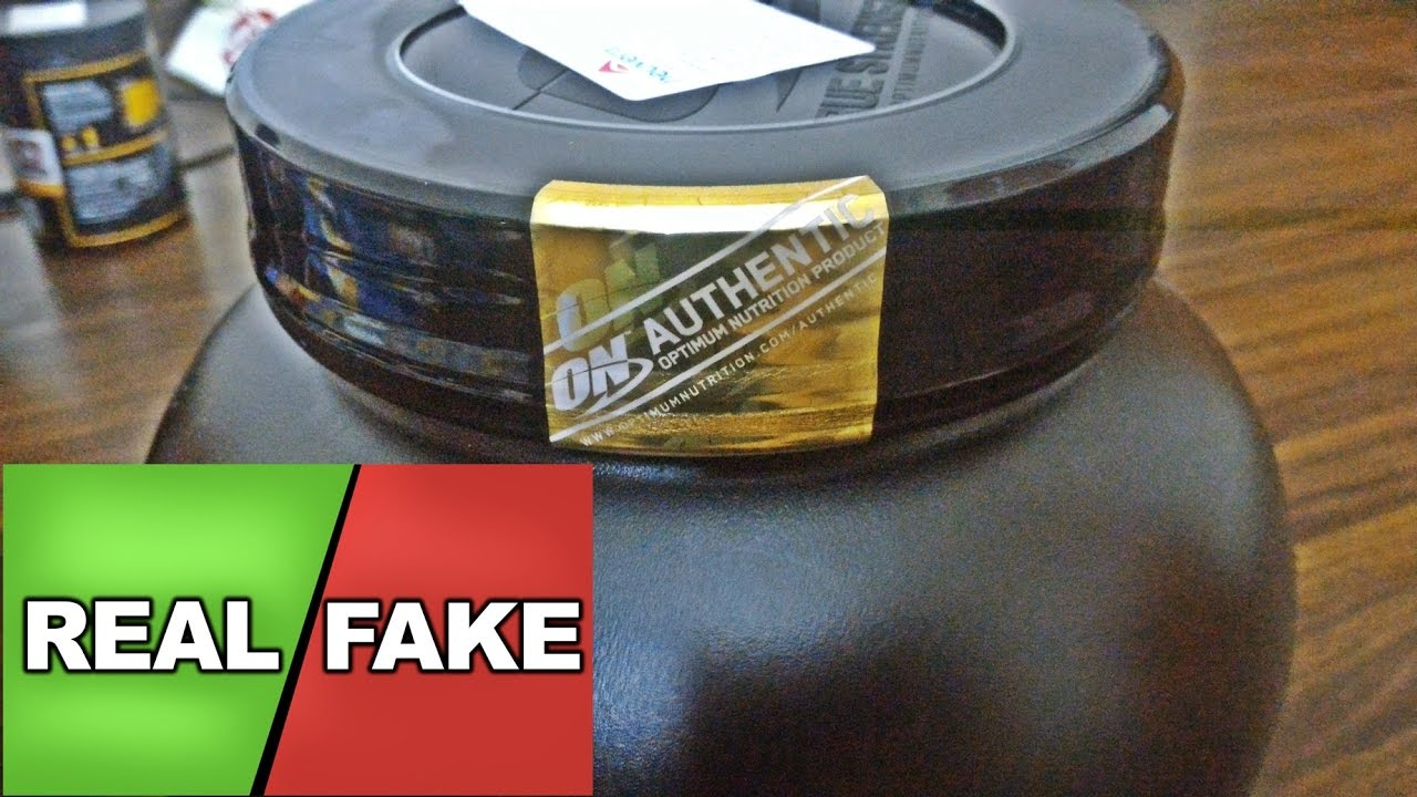100% Whey Gold Standard : [Fake or Real] [Unboxing
