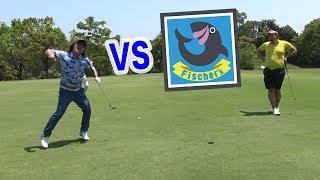 素人同士でゴルフ対決したら面白すぎた
