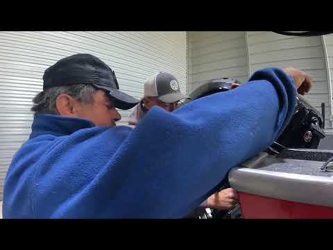 How to replace the impeller for a Mercury 9.9 Big Foot 4 Stroke