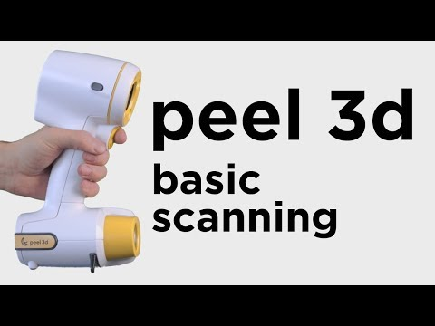 Basic 3D Scanning Workflow with the Peel 3D Scanner
