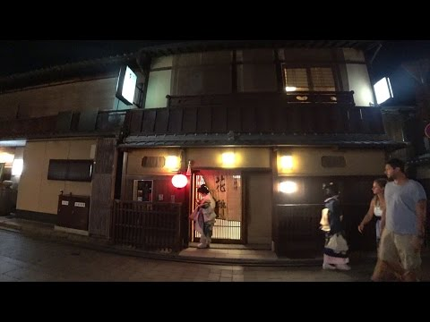 Night view of Kyoto - Using the Sony FDR-X3000【4K】